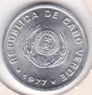 Cap-Vert. 20 Centavos 1977. Poisson , En Aluminium. KM# 15 - Cap Vert