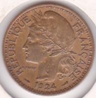 Territoire Sous Mandat De La France. Cameroun. 1 Franc 1924. Lec 6 - Cameroun
