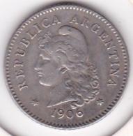 Argentine 10 Centavos 1906 KM# 35 - Argentine