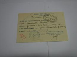 CONGEDO  MILITARE  ---  II° GRUPPO  CARRI L. 35  S. MARCO - 1939-45