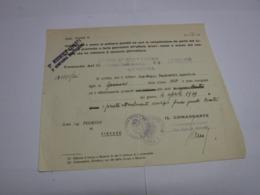 CONGEDO  MILITARE  ---   32° REGGIMENTO  CARRISTA -- VERONA - 1939-45