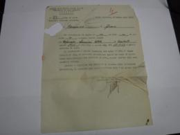 CONGEDO  MILITARE  ---   312° BATTAGLIONE CARRI ARMATI - 1939-45