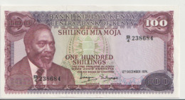 KENYA P. 14a 100 S 1974 AUNC - Kenia