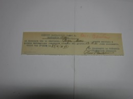 CONGEDO  MILITARE  ---    217° BATTAGLIONE  CARRI  M. - 1939-45