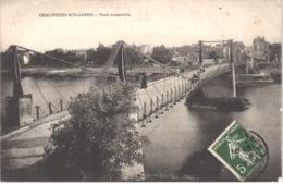 FR49 CHALONNES SUR LOIRE - Pont Suspendu - Animée - Belle - Other Municipalities