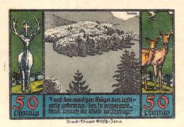 Notgeld 50pfg.Stadt Schwarzburg UNC (I) - [11] Lokale Uitgaven