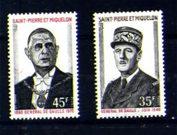 Anniversaire De La Mort Du Général DE GAULE  N° Yvert 419/420 ,**, MNH ,très Beau Cote 66,00 € - Nuovi