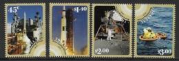 Tokelau - 2019 - 50th Moonlanding, Satellites, Astronautes - 4 Val Neufs // Mnh - Tokelau