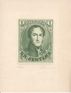 REPRODUCTIONS AGRANDIES DES MEDAILLONS DE BELGIQUE - EMISSIONS 1858 A 1861 (TIRAGES DE 300) 5 SCANS - 1858-1862 Medaillons (9/12)