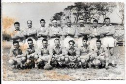 Photographie Format CPA . - Stade Piscénois ,Champion De France Division Honneur  1955 - 1956. - Pezenas