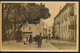 °°° 14266 - CASTELLAMMARE DEL GOLFO - VIA UMBERTO I - PALAZZO DEL COMUNE (TP) °°° - Andere Steden