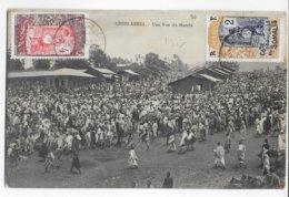 COTE DES SOMALIS - 1915 - CARTE (ADDIS ABABA ETHIOPIE) De DJIBOUTI => MARSEILLE - Côte Française Des Somalis (1894-1967)