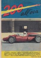 """RIVISTA """"200 ALL'ORA"""" SUPPLEMENTO ALL'I INTREPIDO N°15 Del 11-4-1961- SPILLATO-FOTOGRAFIE IN BIANCO  NERO E COLORATE - Libri, Riviste, Fumetti"""