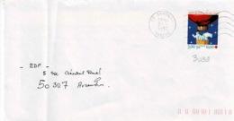 TP  3039 Seul  Sur Enveloppe De Sartilly - Marcophilie (Lettres)