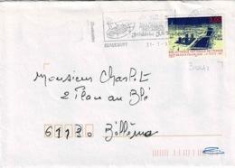 TP  3041 Seul  Sur Enveloppe De Beaucourt - Marcophilie (Lettres)