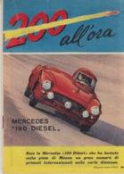 """RIVISTA """"200 ALL'ORA"""" SUPPLEMENTO ALL'I INTREPIDO N°16 Del 18-4-1961- SPILLATO-FOTOGRAFIE IN BIANCO  NERO E COLORATE - Libri, Riviste, Fumetti"""