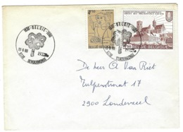 B25 - België - Dendermonde - 1980 - 150 Jaar België - Poststempel