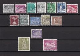 Berlin - 1956/62 - Michel Nr. 140/154 - Gest. - 55 Euro - Oblitérés