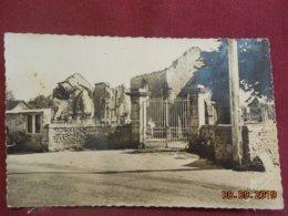 CPSM - Longueville - L'Eglise En Ruine - Altri Comuni
