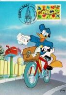"""TP  3046  Seul  Sur Carte Postale """" Donald """" Prêt à Poster Avec Même Timbre Imprimé - Marcophilie (Lettres)"""