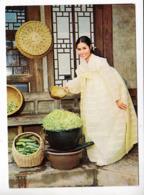 """Asie Corée Du Sud Koréan Traditional Customs """"Sprouting Beans""""  TBE - Corea Del Sud"""