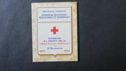 Carnet Croix Rouge 1954 Neuf ** TB Voir Scans - Carnets