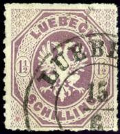 Lubeck. Michel #14. Used. VF. - Lubeck