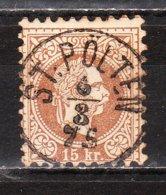 36A  François-Joseph Ier - Bonne Valeur - Oblit. Centrale ST POLTEN - Rousseurs - LOOK!!!! - 1850-1918 Empire