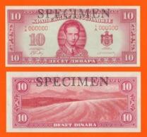 YUGOSLAVIA 10 DINARA 1949 1950 - LONDON - Joegoslavië