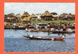 Af115 BENIN Cité Lacustre De GANVIE 1980s Edit ROUILLE 197 - Benin