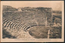 °°° 14268 - CASTELLAMMARE DEL GOLFO - L'ANFITEATRO DI SEGESTA (TP) 1927 °°° - Altre Città