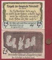 Allemagne 1 Notgeld 75 Pfenning Stadt Neinstedt (SERIE COMPLETE 6X0.75) (RARE 77x53 Mm)  Dans L 'état N °4783 - [ 3] 1918-1933 : República De Weimar