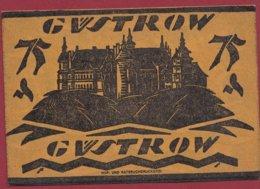 Allemagne 1 Notgeld 75 Pfenning Stadt  Güstrow (RARE)  Dans L 'état N °4768 BIS - Collections