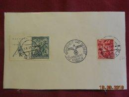 Support De Timbres De Bohème & Moravie De 1939 - Lettres & Documents