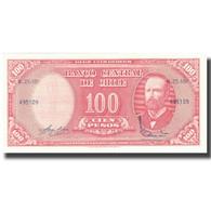 Billet, Chile, 10 Centesimos On 100 Pesos, 1960-61, KM:127a, SPL+ - Chili