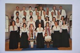 Choeur Ukrainien Kobzar-45700-PANNES- Carte Postale-voir Scan Du Dos - Musique Et Musiciens