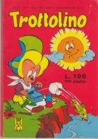 TROTTOLINO N°7 - LUGLIO 1963 - STATO DI CONSERVAZIONE: PIU' CHE OTTIMO - Boeken, Tijdschriften, Stripverhalen