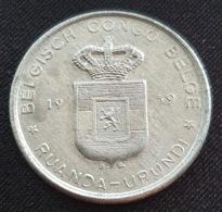 Ruanda-Urundi 5 Francs 1959 - Congo (Belge) & Ruanda-Urundi