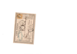 Timbre N 55 Sur Enveloppe - 1849-1876: Klassieke Periode