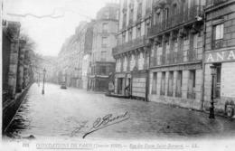 PARIS - Rue Des Fossés Saint Bernard - Janvier 1910 - Inondations De 1910