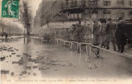 PARIS - Avenue Daumesnil Et Rue Traversière - Janvier 1910 - Inondations De 1910