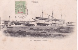 INDOCHINE(BATEAU PAQUEBOT) HAIPHONG - Dampfer