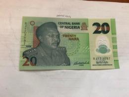 Nigeria 20 Naira Polymer Unc. Banknote 2008 - Nigeria