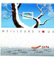 Meilleurs Voeux ROUGE-GORGE N° Yvert 1, **, MNH, Très Beau, Cote 90 € - Foglietti Commemorativi