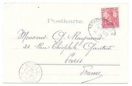 Bahnpost Aachen-St. Vith, 1915 - Briefe U. Dokumente