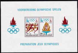 1978, Belgien, 1967/68 Block 47,  Olympiade 1980. MNH **, - Blocks & Sheetlets 1962-....