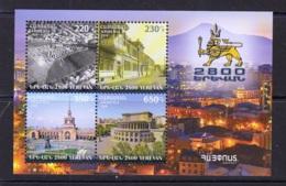 6.-ARMENIA 2018 Armenian Statehood - 2800th Anniversary Of The Foundation Of Yerevan - Armenia