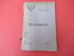 Livre/ Réglement De Topographie/ E.S.A.A./Ecole De Spécialisation De L'Artillerie Anti-Aerienne/1956              LIV177 - Books