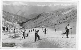 SAURAT Sports D'hiver Au Col De Port Panorama Sur La Chaîne Des Pyrénées Ed. Labiste, Cpsm Pf - Francia