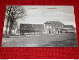 WATERLOO -  Hougoumont   - (Bloc Postal Terpi - Edit. A. Piron) - Waterloo